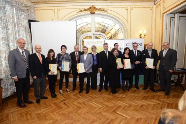 Finalisti priznanja Aurea 2015