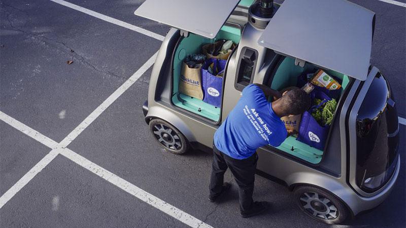 nuro autonomno vozilo