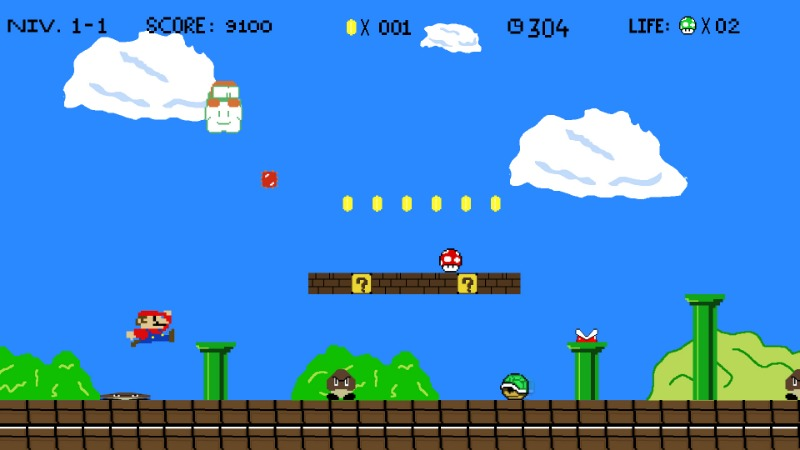 super mario retro gaming nintendo