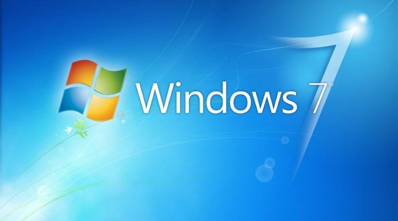 Windows 7 logo desktop