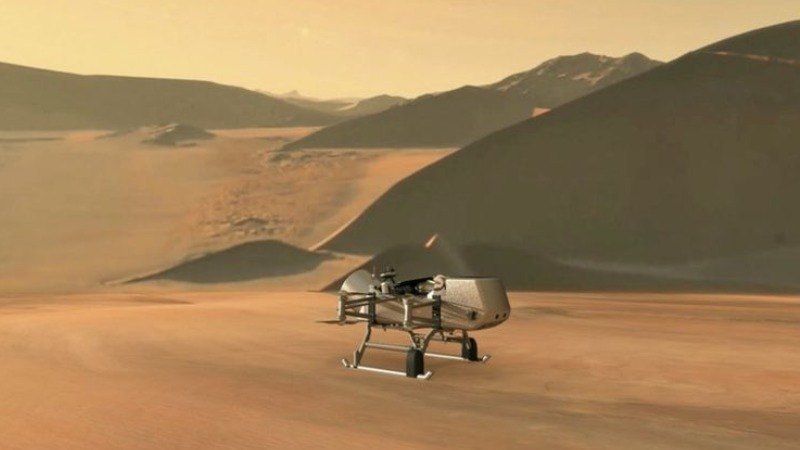 NASA helikopter Saturnov mesec titan svemirska misija
