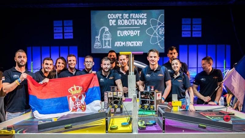 EuRobot 2019 Srpski IT studenti osvojili prvo mesto