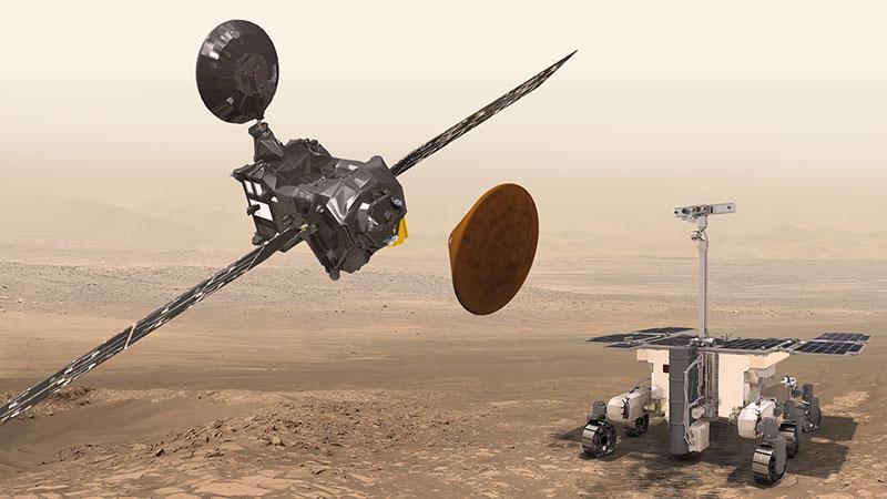 ExoMars: Evropski pohodi na Mars