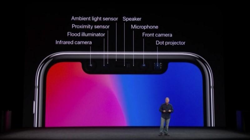 Apple iPhone 3D eye scan