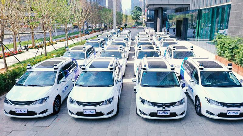 Autonomna taksi vozila osvajaju Kinu