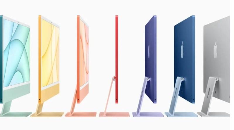 Apple objavljuje novi, tanji iMac sa M1 čipom.