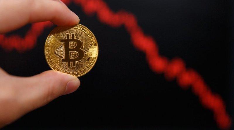 Pad vrednosti bitkoina