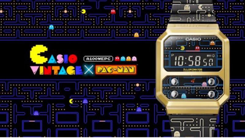 Casio napravio Pac-Man verziju svog popularnog sata.