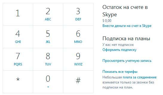 Cách gọi vào Skype vào điện thoại