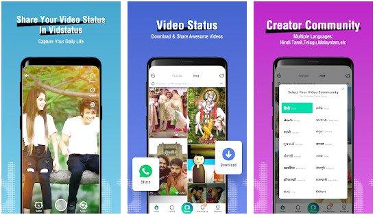 vidstatus app – status videos & status downloader