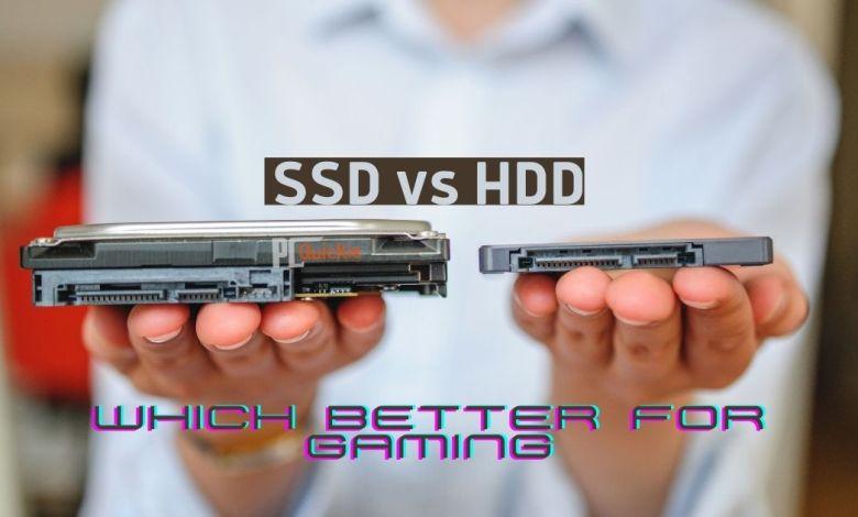 SSD vs HDD gaming