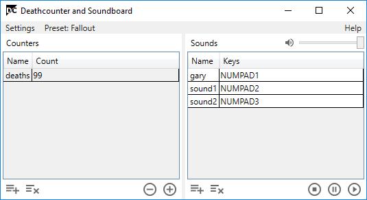 death counter soundboard