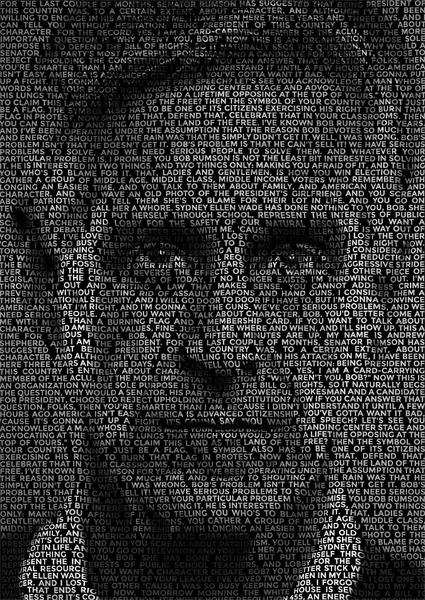 Create a Text Portrait Effect in Photoshop