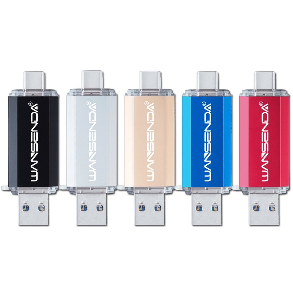 Double-Sided OTG USB Flash Drive