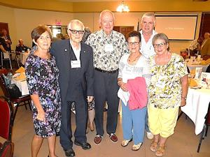 Carol Rudlosky, Art Fesymer, Ken Bliss, Adele Fussner, William Fussner, & Nancy Bliss