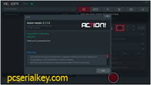 Mirillis Action! 3.4.0 Crack + Activation Key Free Download