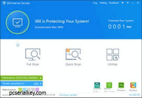 360 Total Security 10.2.0.1101 Crack + Full Keygen