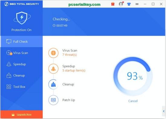 360 Total Security 10.2.0.1194 Crack + Full Keygen Download