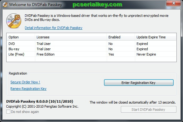 DVDFab Passkey Lite 9.3.2.8 Crack + Full Torrent Download