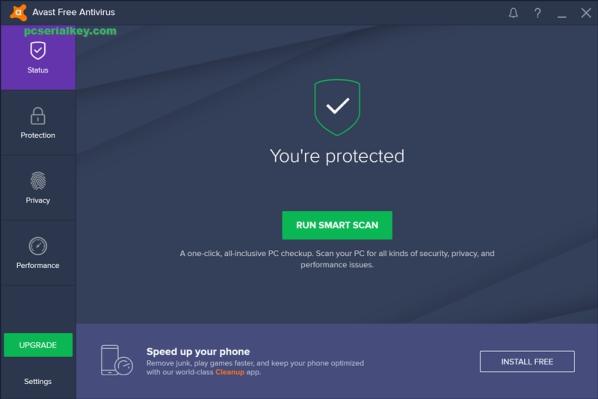 Avast Antivirus 2019 19.8.2389 Crack + License Key Free [Mac + Android]