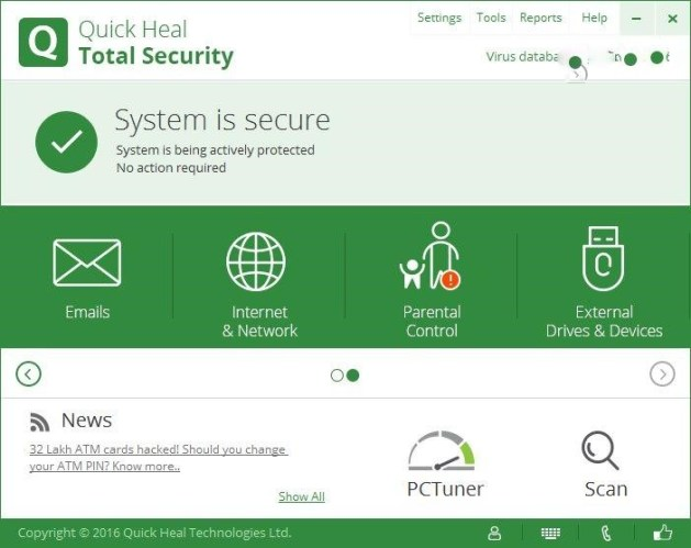 Quick Heal Total Security Product Key Free