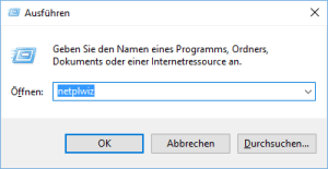 Ausführen in Windows 10 - Windows 10 Autostart Ordner