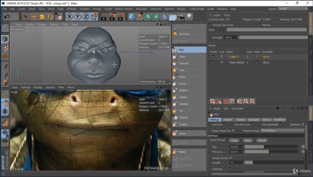 Maxon CINEMA 4D Studio R21 Crack Torrent Full Version