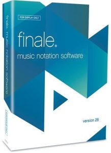 Download MakeMusic Finale 26 Crack With License Key