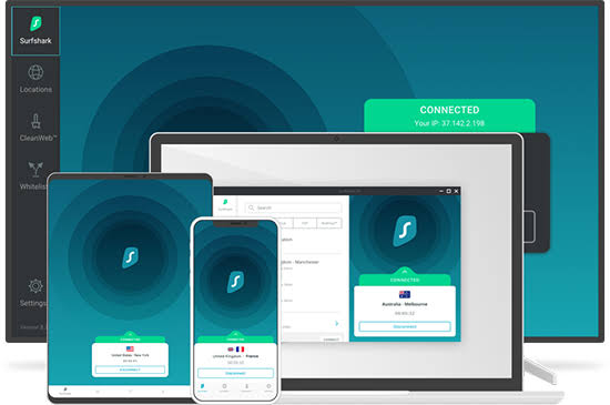 Surfshark VPN Registration Code With Activation Keys Full Version