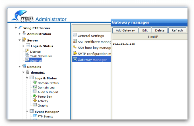 Wing FTP Server Corporate key