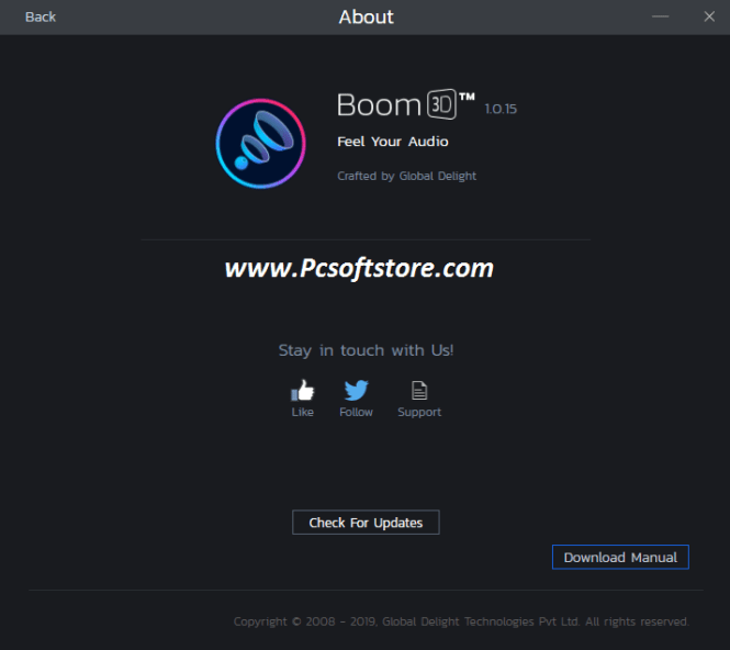 Boom 3D 1.4.0 Crack With Keygen Free Download Latest 2021