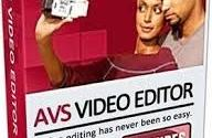 AVS Video Editor 8 serial key full version for free