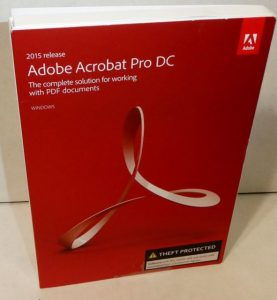 Adobe Acrobat Pro DC 2018 Crack Free Download