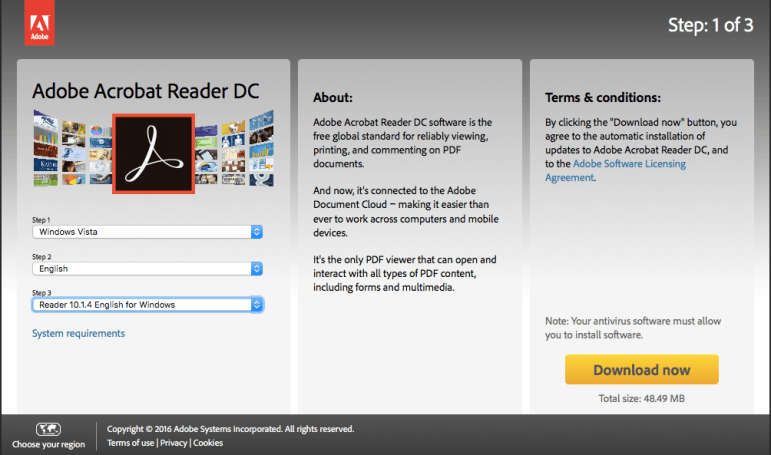 Adobe Reader 11 full version Free Download for windows & mac