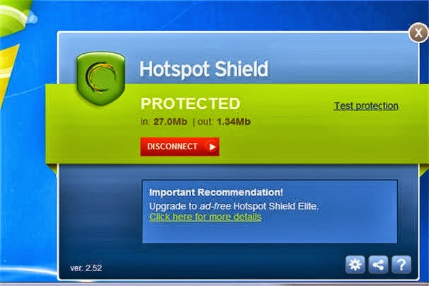 Hotspot Shield 7 Elite license key Free Download