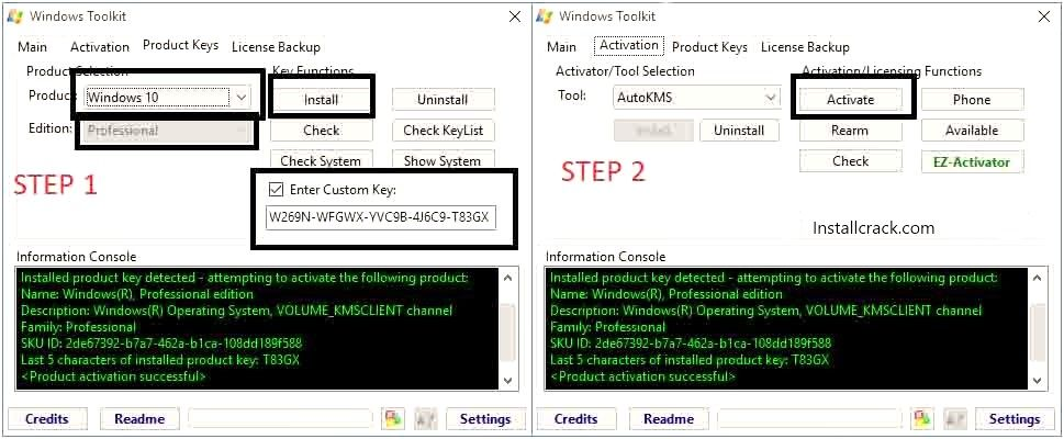 Download Microsoft Toolkit v2.6.7 Windows & Office Activator Full Version