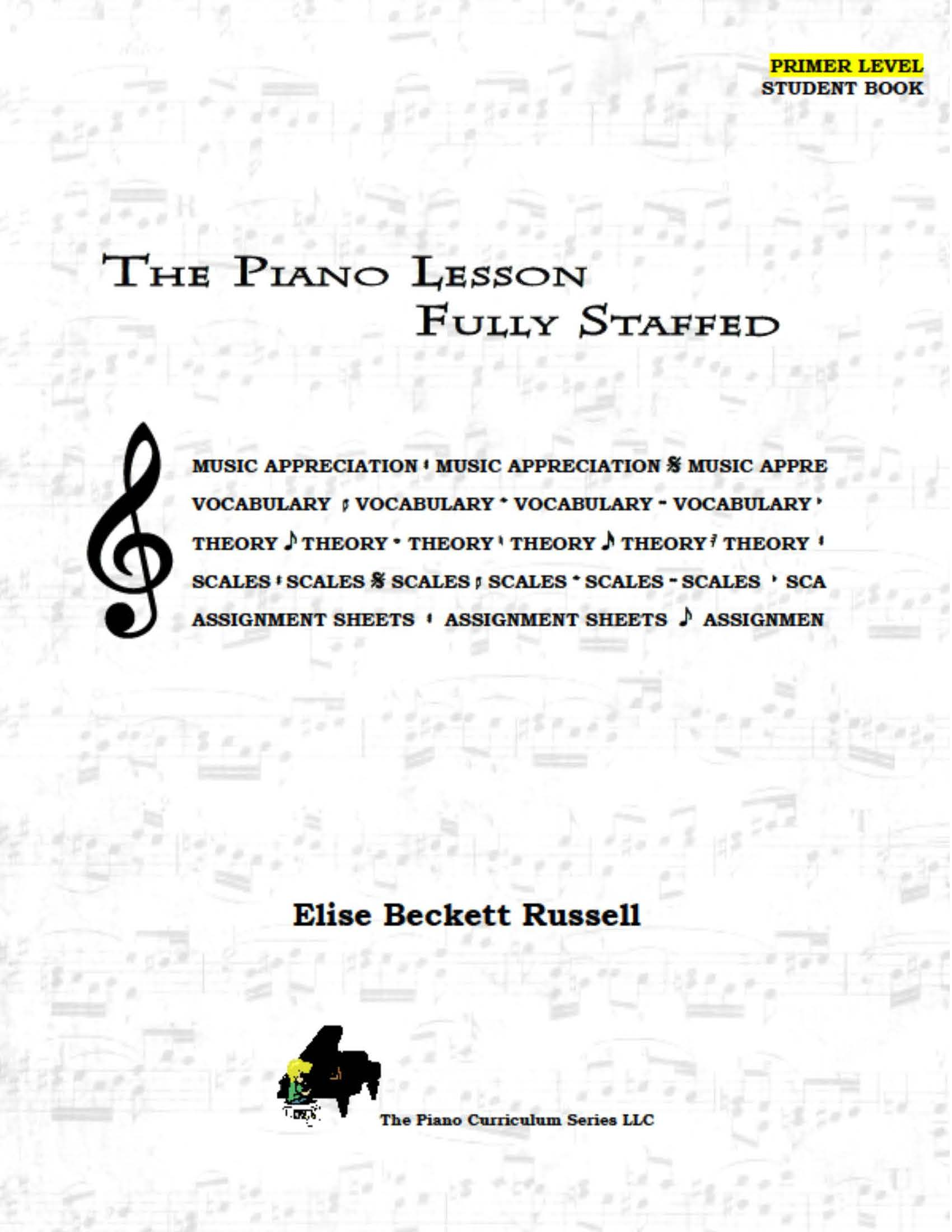 The Piano Lesson Teacher Manual P-5. Sale!