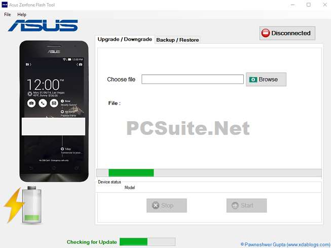 Asus Flash Tool Latest Version v2 0 1 Free Download | PC Suite