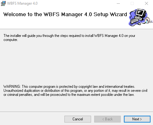 Setup Wizard for WFBS Manager