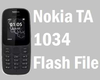 Nokia TA 1034 Flash File Free Download