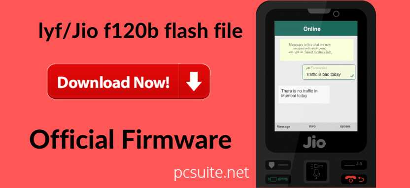 Jio F120b Flash File