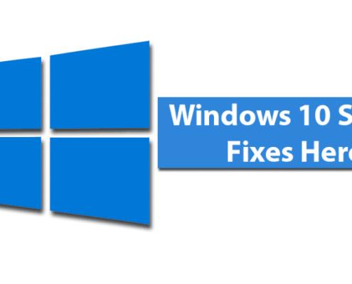 windows 10 slow fixes here