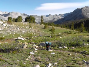 On Way to Pinchot Pass