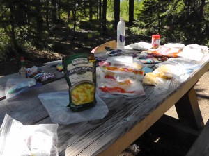 Olallie Lake Resupply