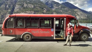 Stehekin Red Bus