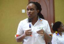 Ms. Vivian Ddambya, Director Technical Services NITA Uganda and head of the of the NBI project. Courtesy Photo