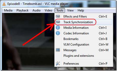 Sync Subtitles With The Video In VLC