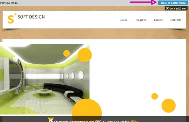 wix, créer son website, création de site web,création site