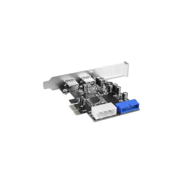 Vantec 4-Port SuperSpeed USB 3.0 PCIe Host Card with Internal 20-Pin Connector (UGT-PC345)