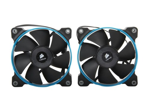 CORSAIR Air Series SP120 Quiet Edition High Static Pressure 120 mm Case Fan Twin Pack (CO-9050006-WW)